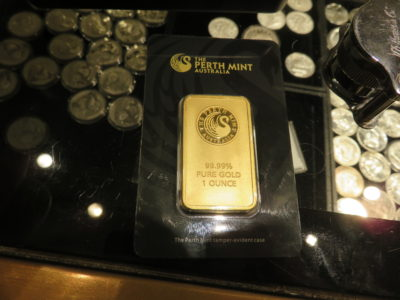 Fake Perth Mint 1 oz gold bar